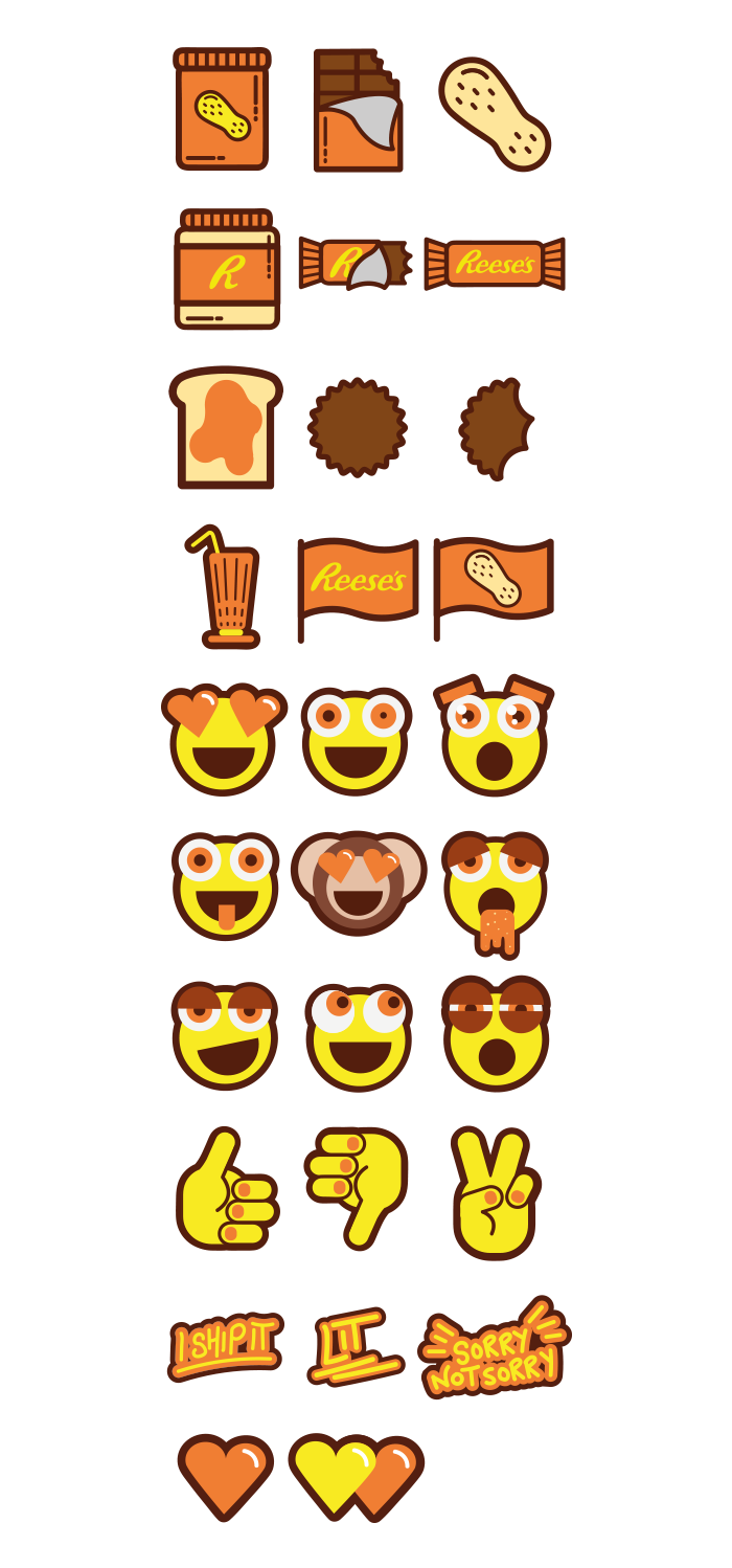 The final emoji set