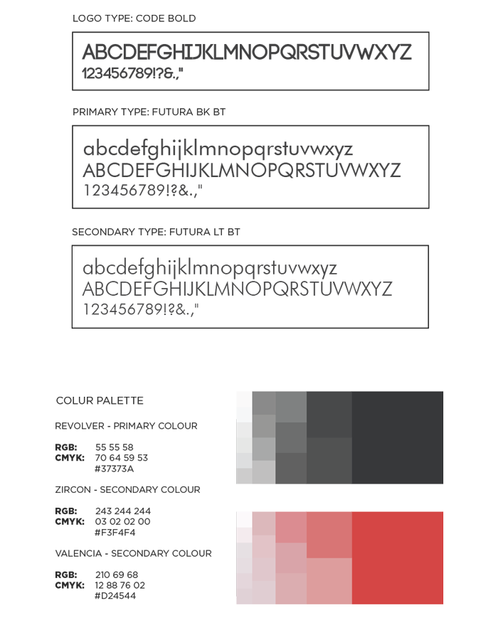 Typography and colour