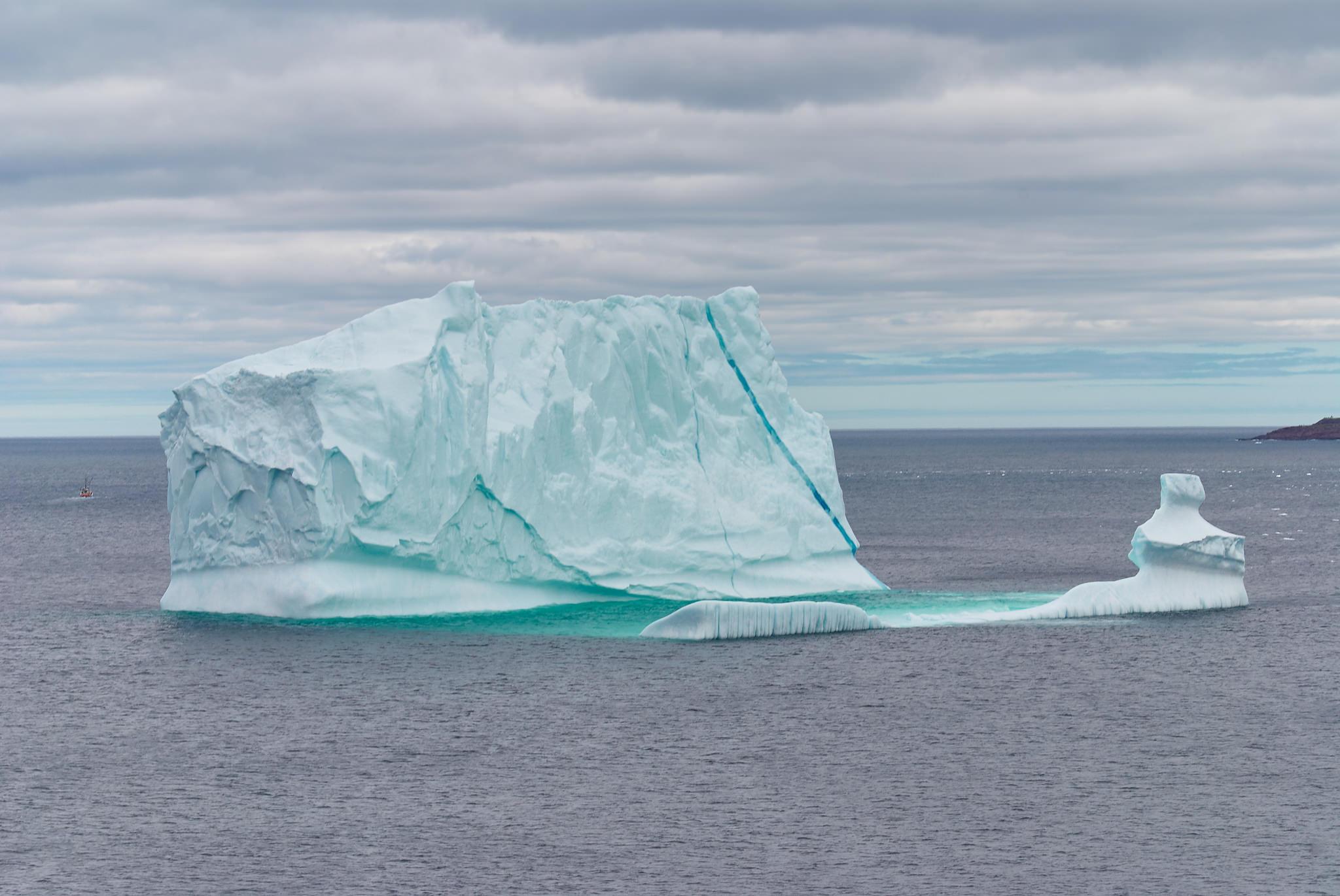 Massive Iceberg off St. John's