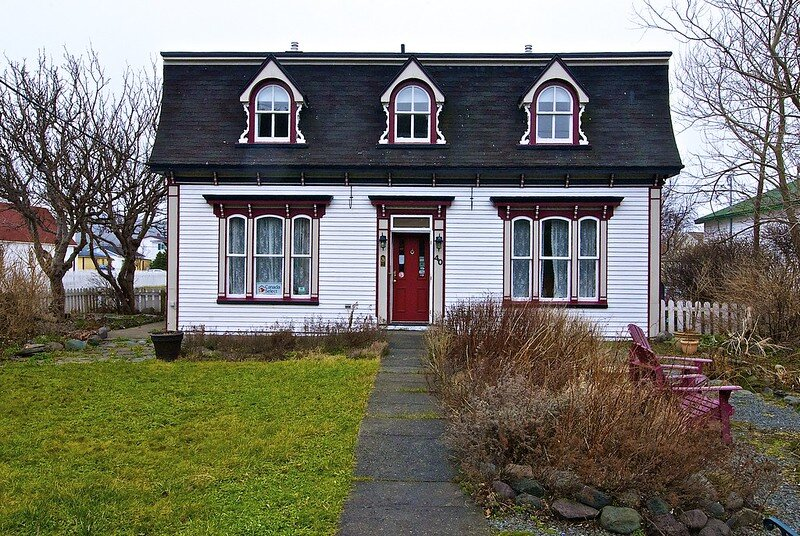 Rosedale Manor B&B in Winter, Placentia Newfoundland.