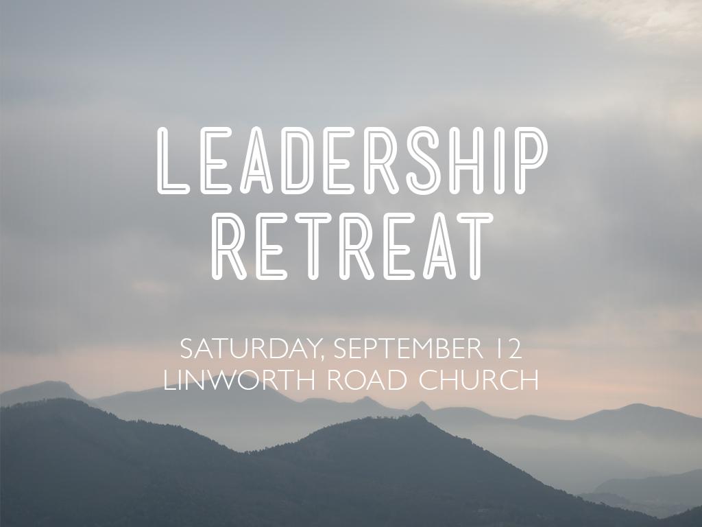 Leader's Retreat 2015