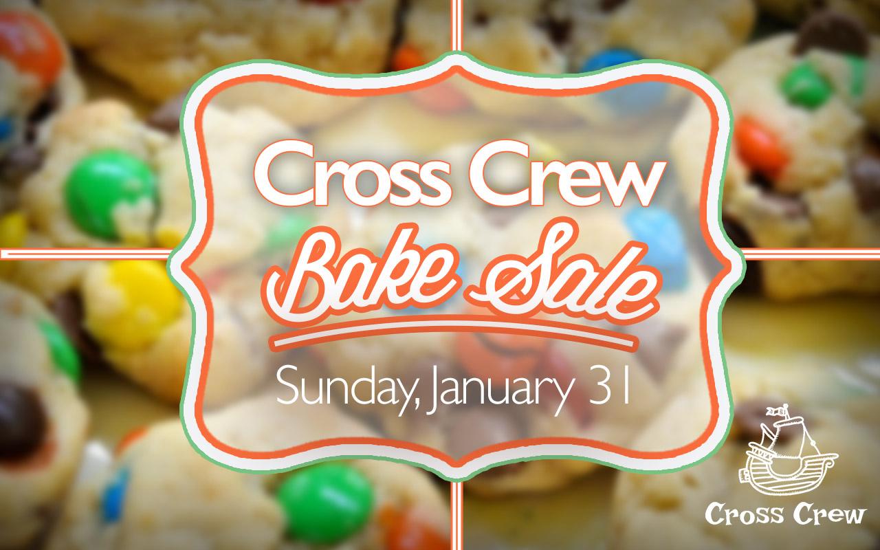 Cross Crew Bake Sale