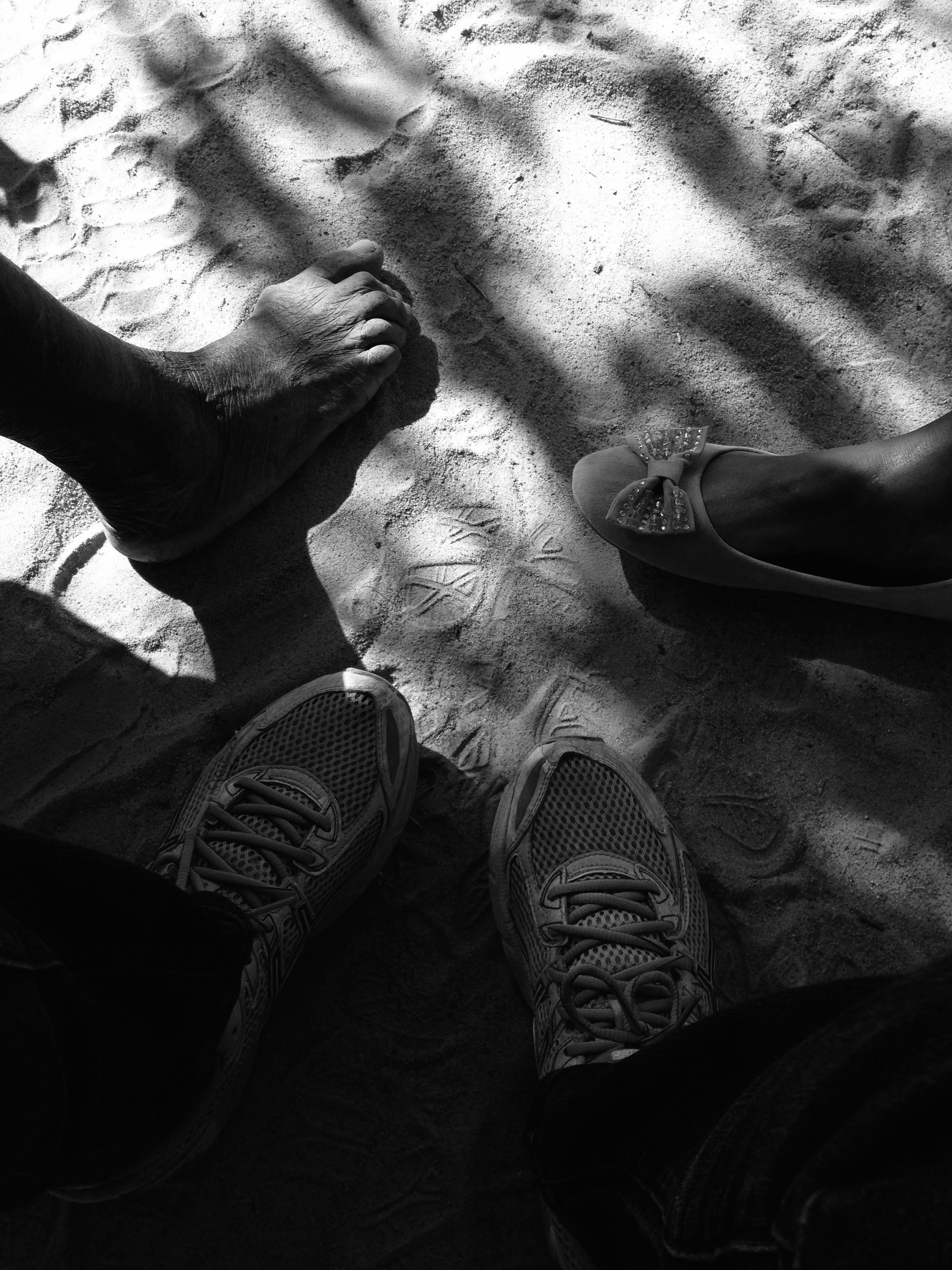 Feet: Farmer, Enumerator, Shahzeen