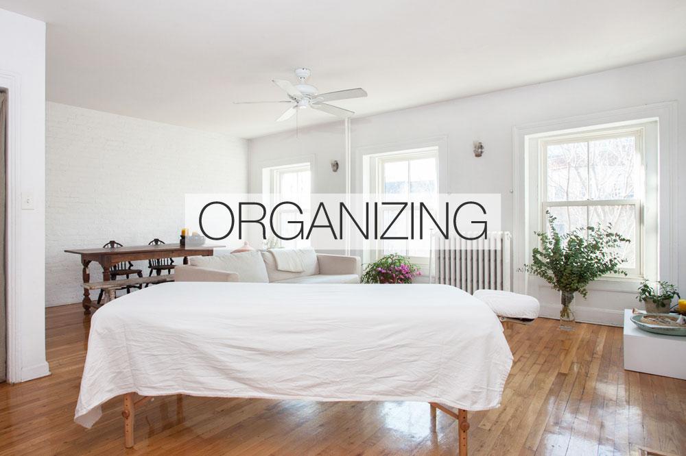 External: Organizing