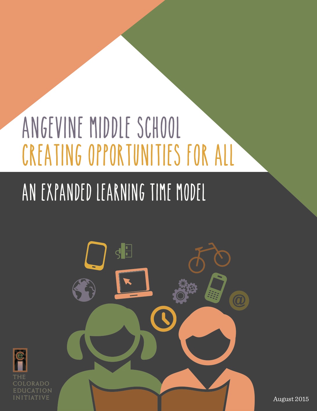 ANGEVINe middle school: creating opportunities for all, august 2015