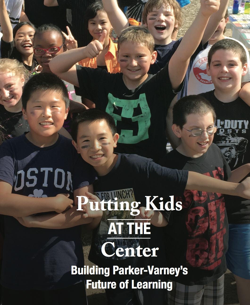 putting kids at the center: Building parker varney's future of learning, august 2015