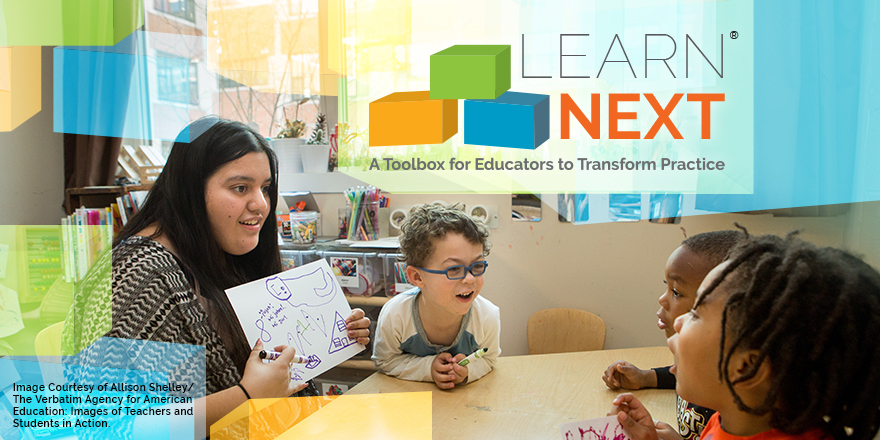 Learn Next   : a collaboration to build and scale professional learning courses for transformative learning.