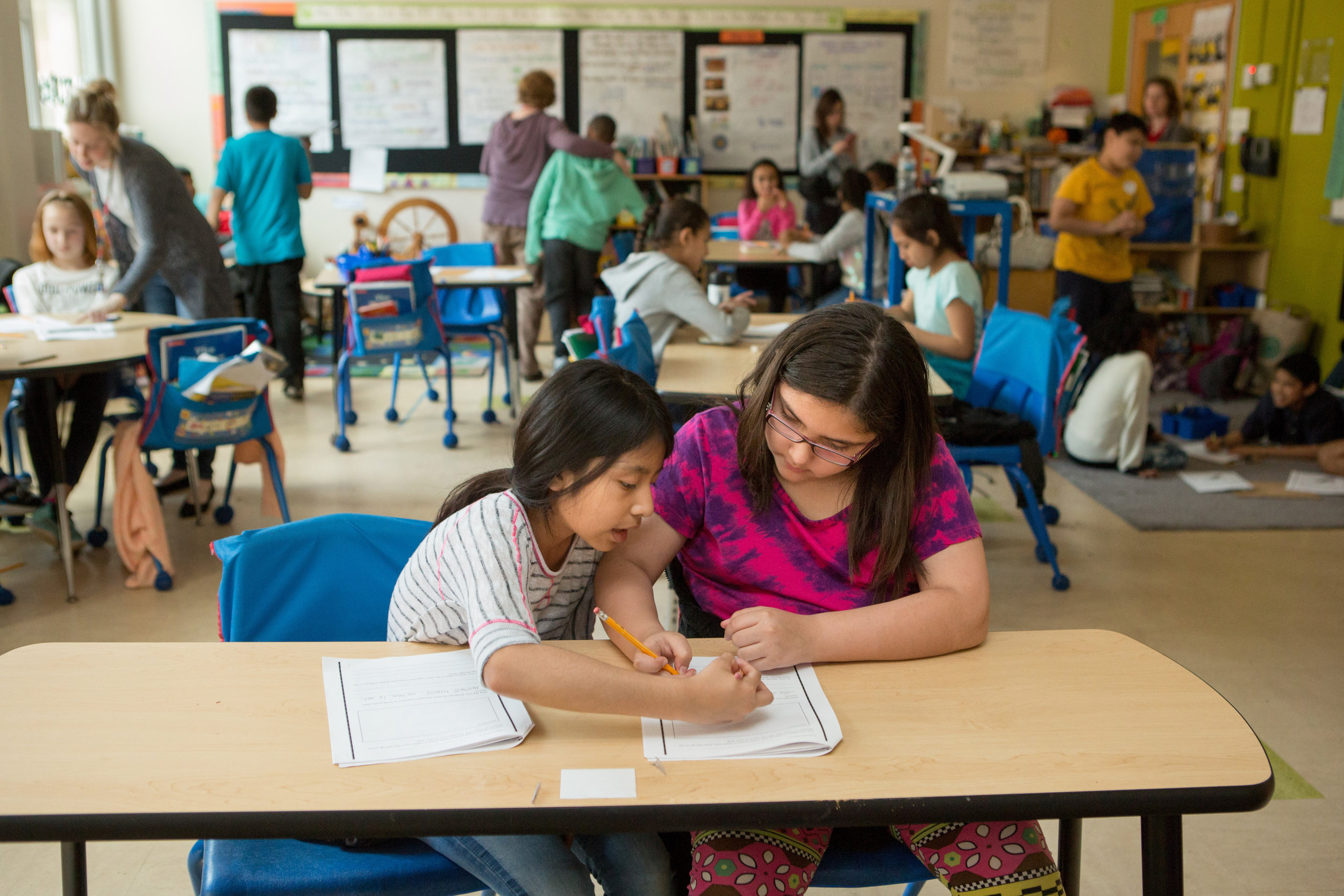 Courtesy of Allison Shelley/The Verbatim Agency for American Education: Images of Teachers and Students in Action.