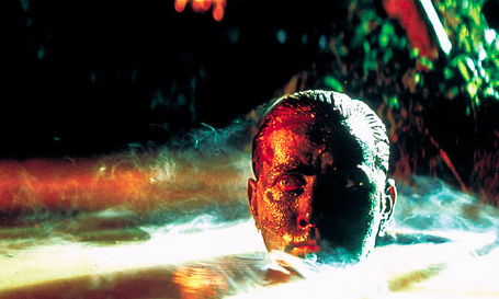 """APOCALYPSE NOW, the Coppola film starring Martin Sheen and Brando, was an adaption of Joseph Campbell's Heart of Darkness and a great example of Campbell's """"hero's journey.""""property: United Artists."""