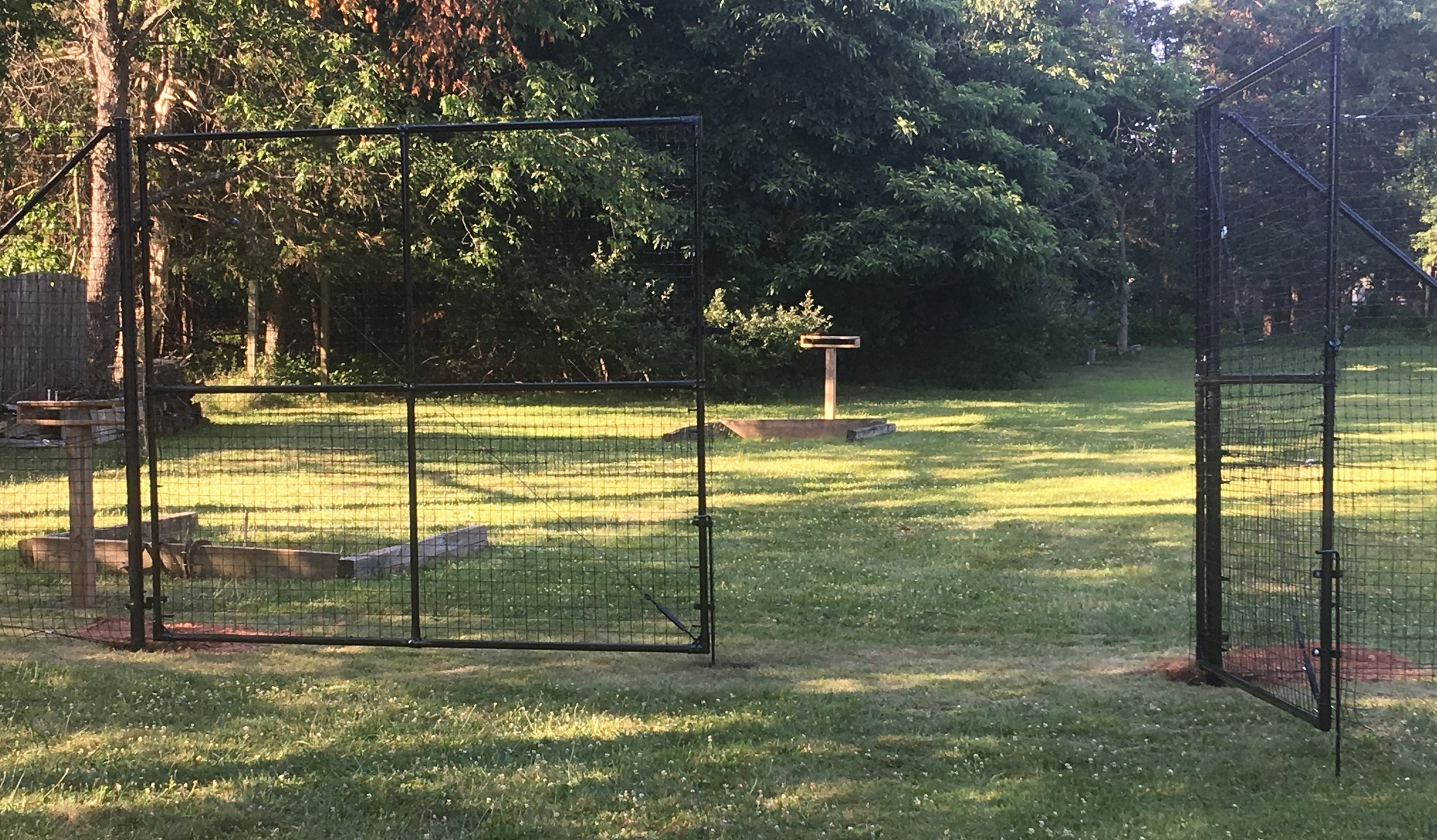 double-gate-deer-fence