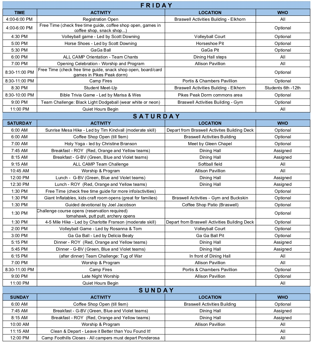 camp+schedule+2019
