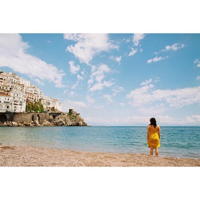 Amalfi with @allie0op 😍 - Ektar 100 - Pentax 645 45mm