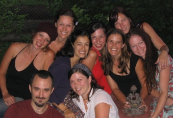the first Bhaktishop crew from 2007...