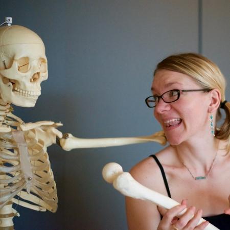 Ali and Skeleton.JPG