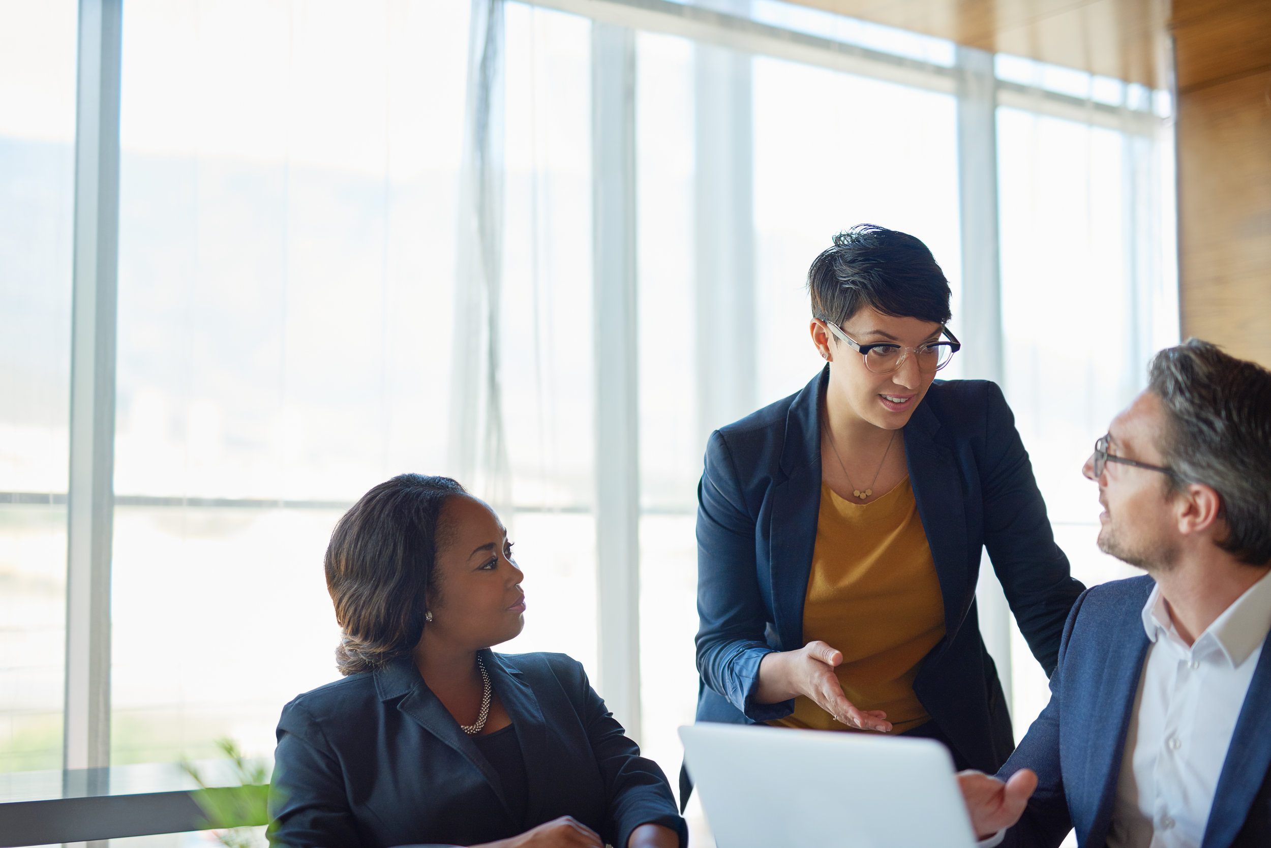 Our  Executive Mentorship  program provides guidance on key business matters.