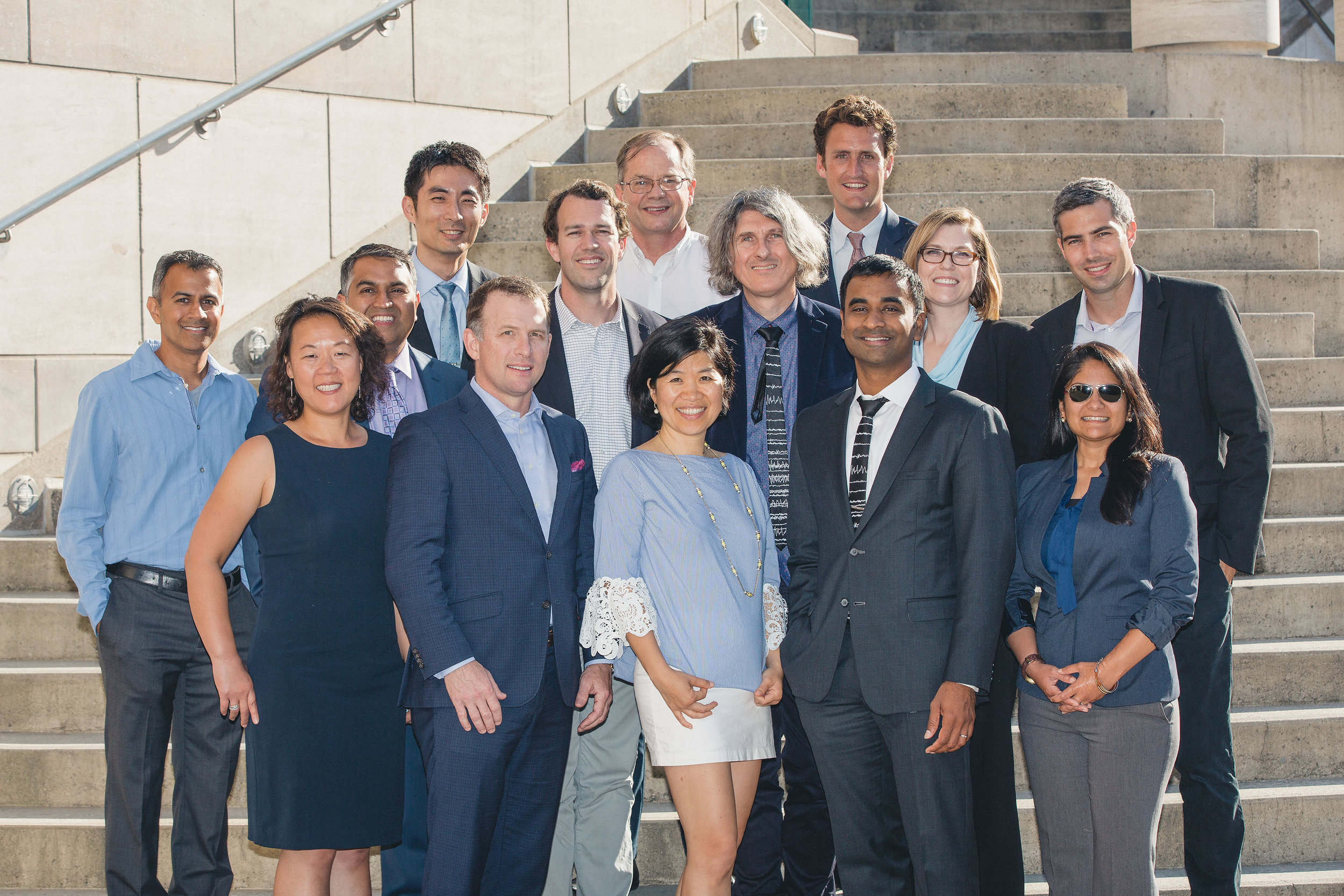 The annual  Rosenman Innovator  cohort receives coaching, exposure, and connections to investors and industry.