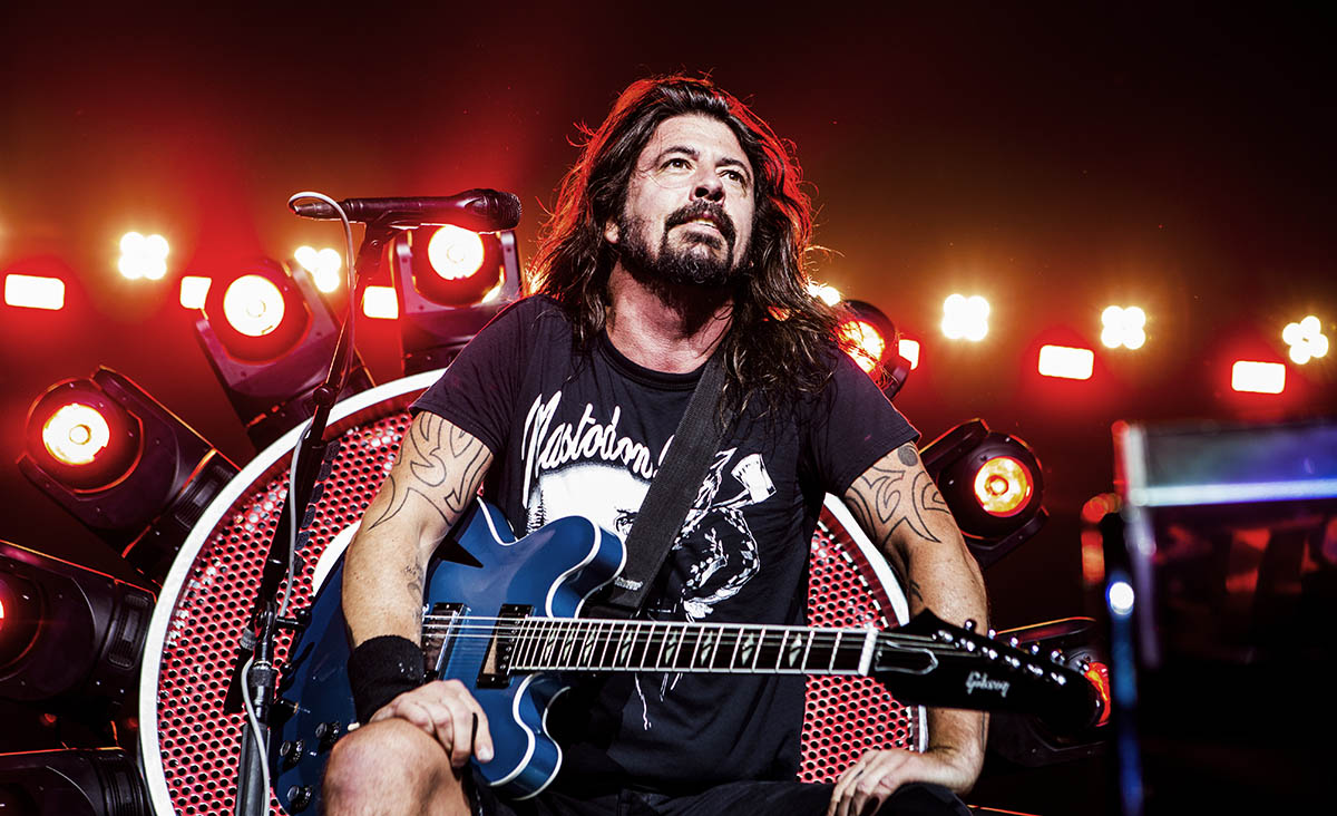 Dave Grohl of the Foo Fighters/Andy Keilen Photography