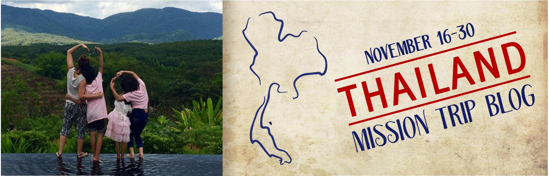 2016 Thailand Mission Trip