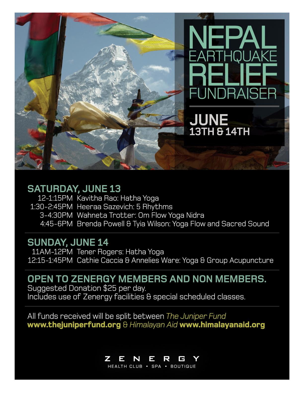 Nepal fundraiser