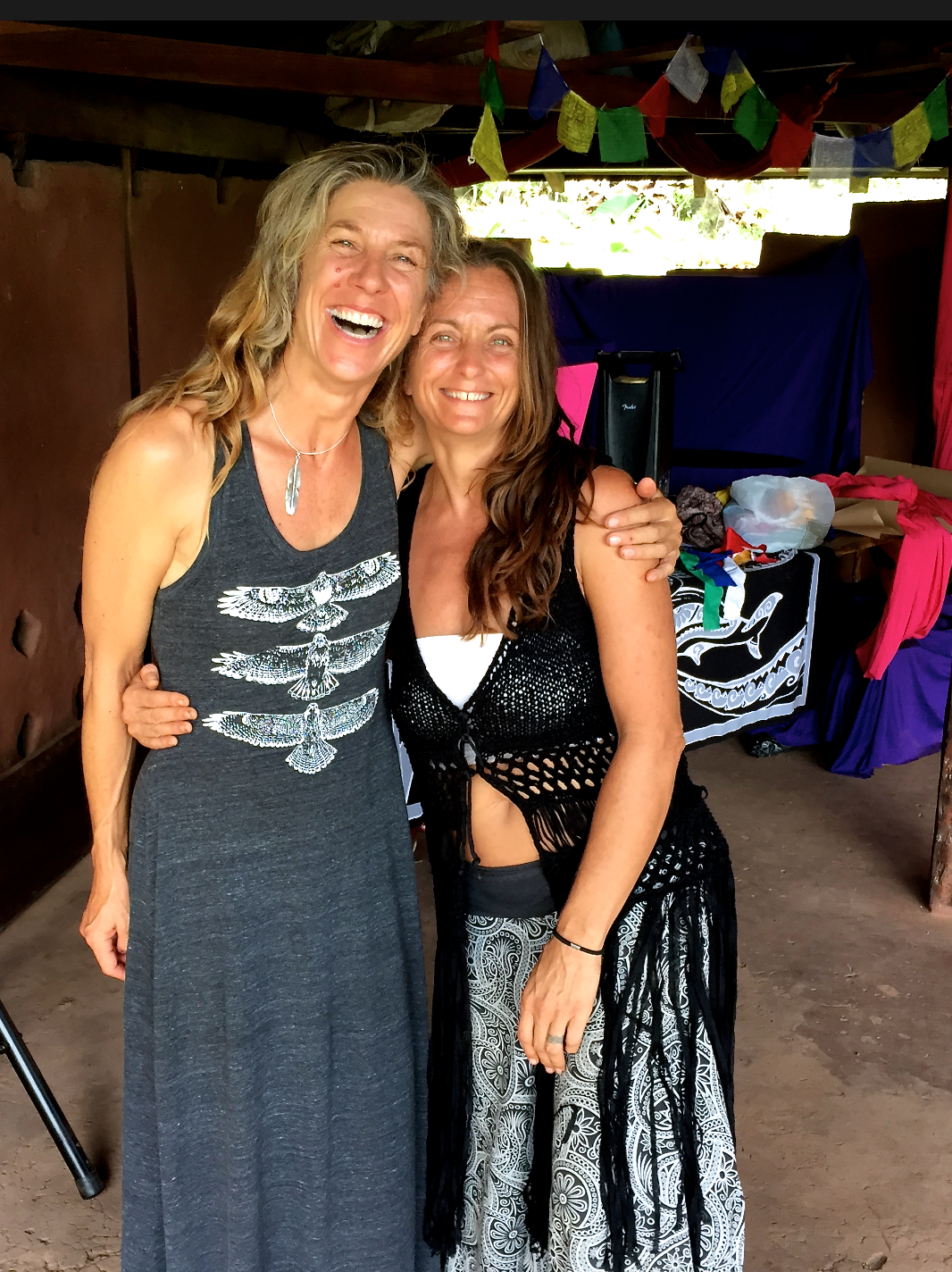 Pictured with beautiful co-founder/owner/visionary extraordinaire of Inanitah, Gaia Ma