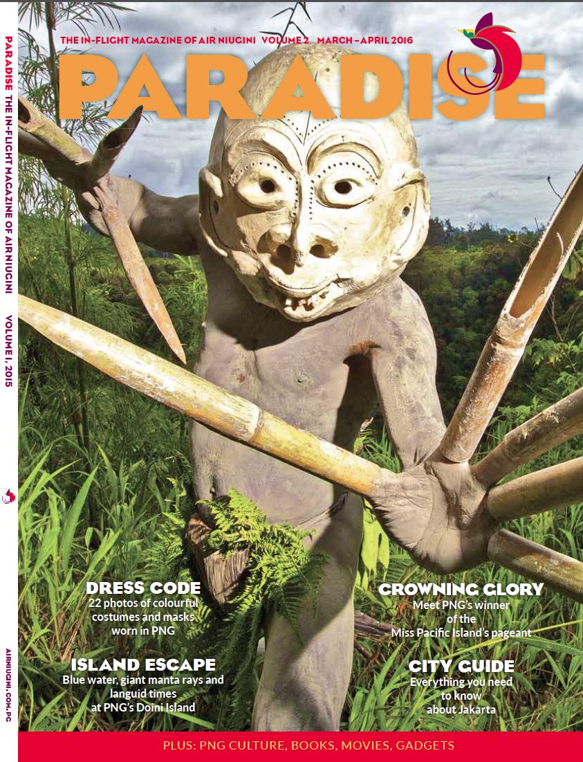 Paradise Magazine cover 2016