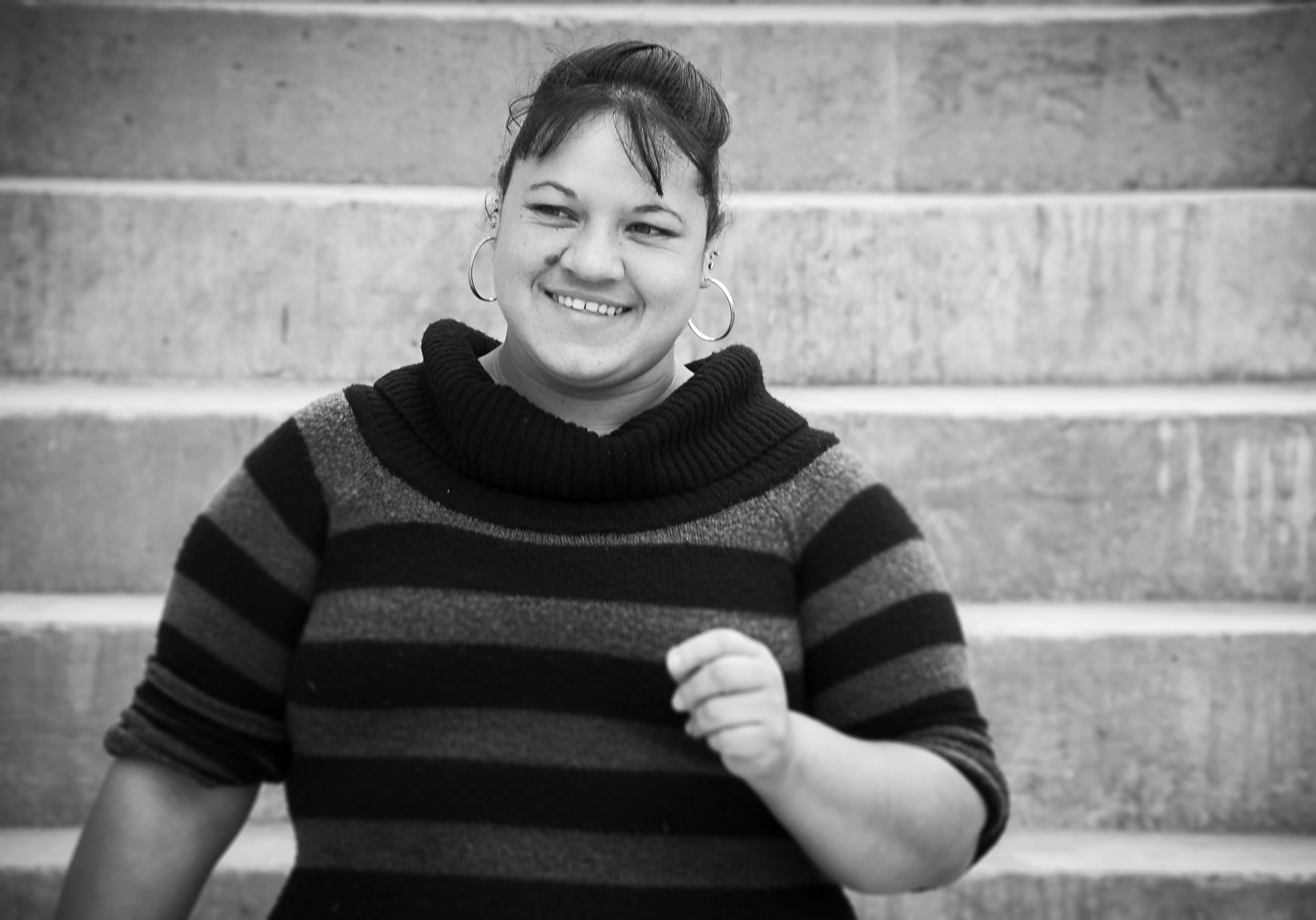 Rosaelia Rivas - head volunteer at Hechos 2:42