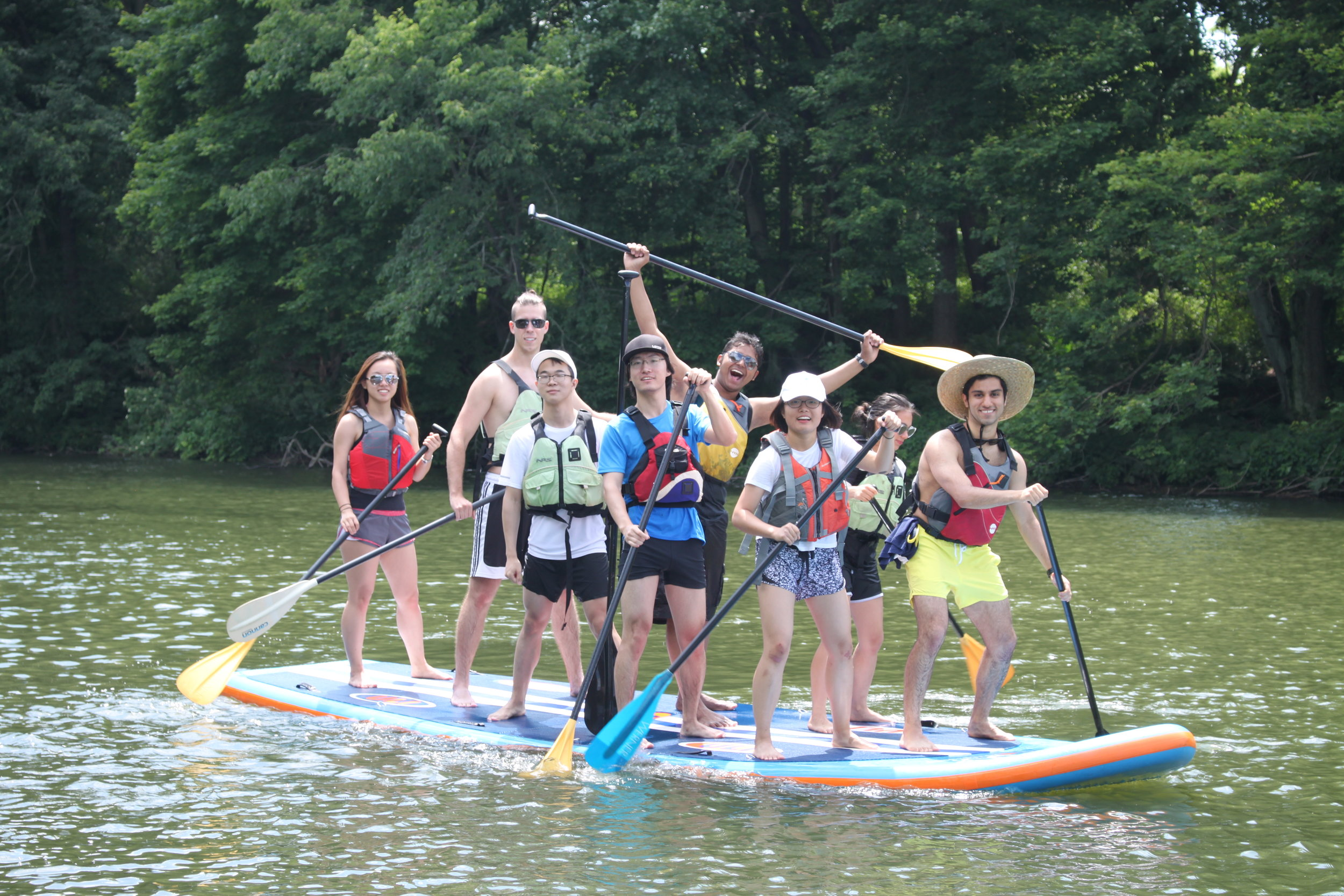 Group Fun! - We can accomodate your large groups for all ages. Perfect for corporate events, team-building, girl scouts and boy scouts, church activities, and more!