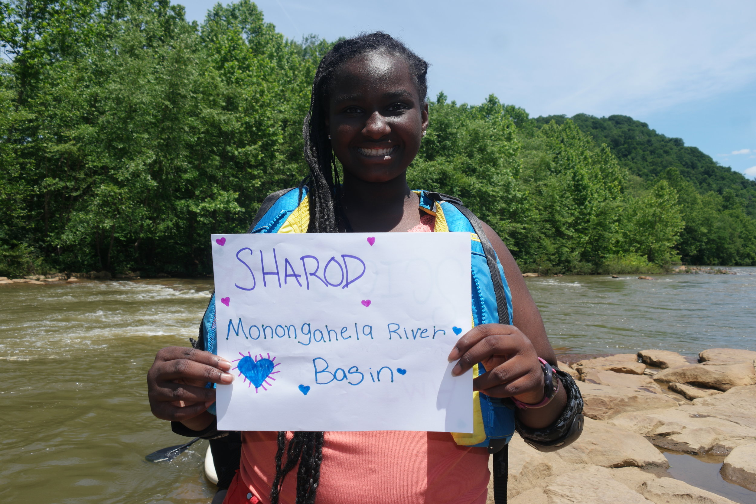 Participants learned what watershed they lived in through an online mapping system.
