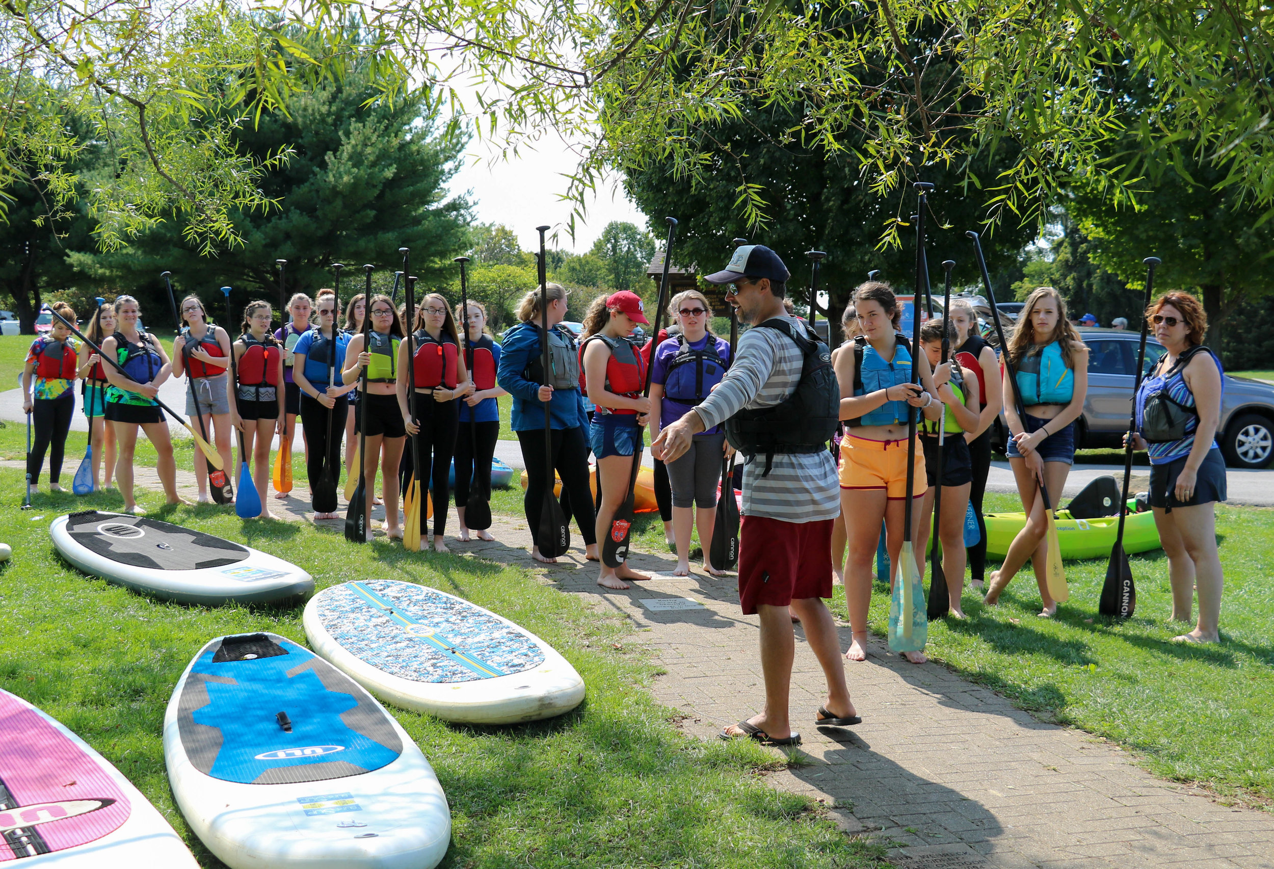 Paddleboarding Group Lesson