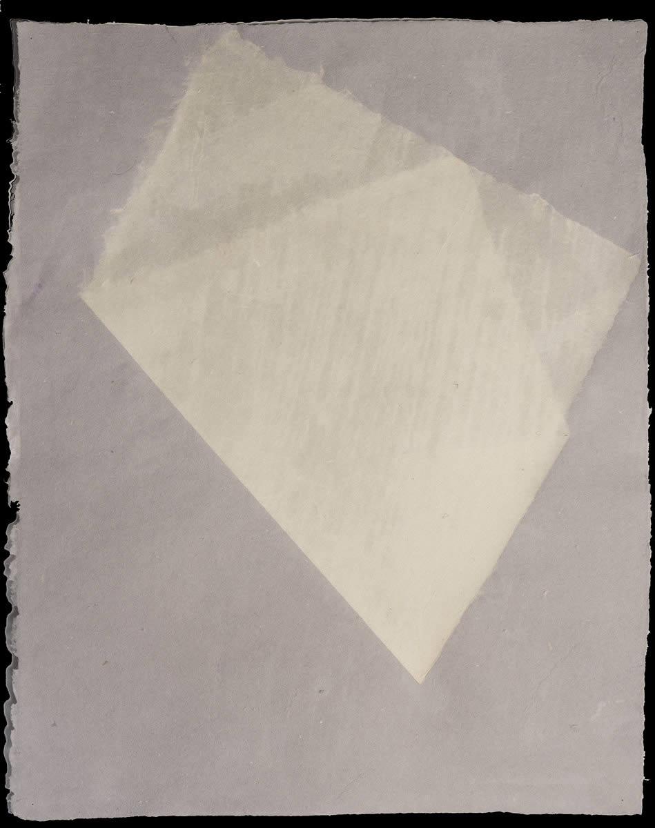 Origami, White on Violet 2