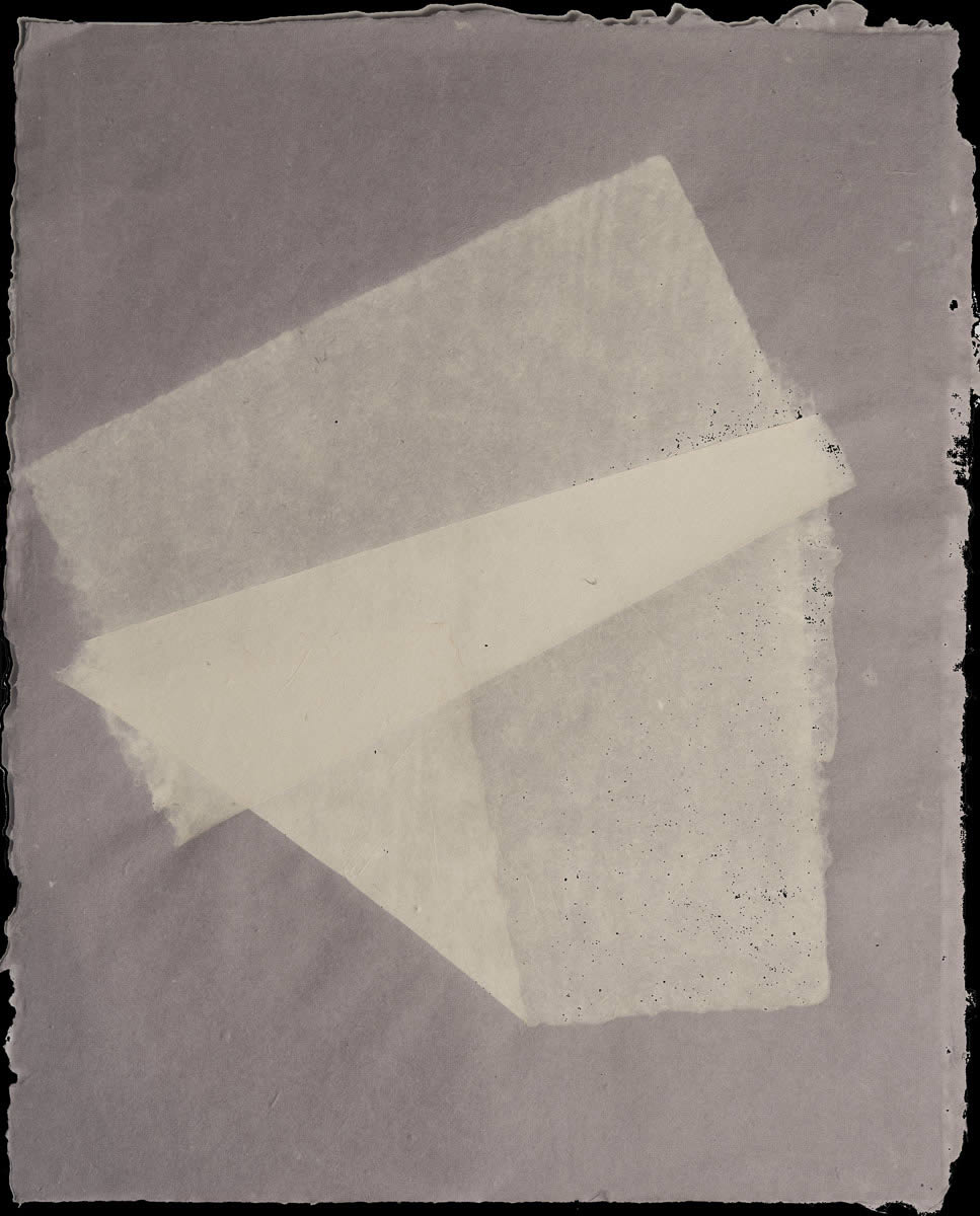 Origami, White on Violet 4