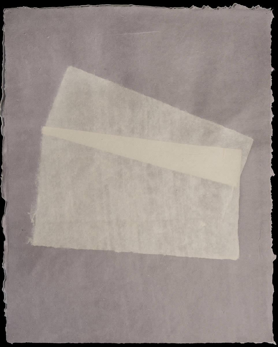 Origami, White on Violet 6