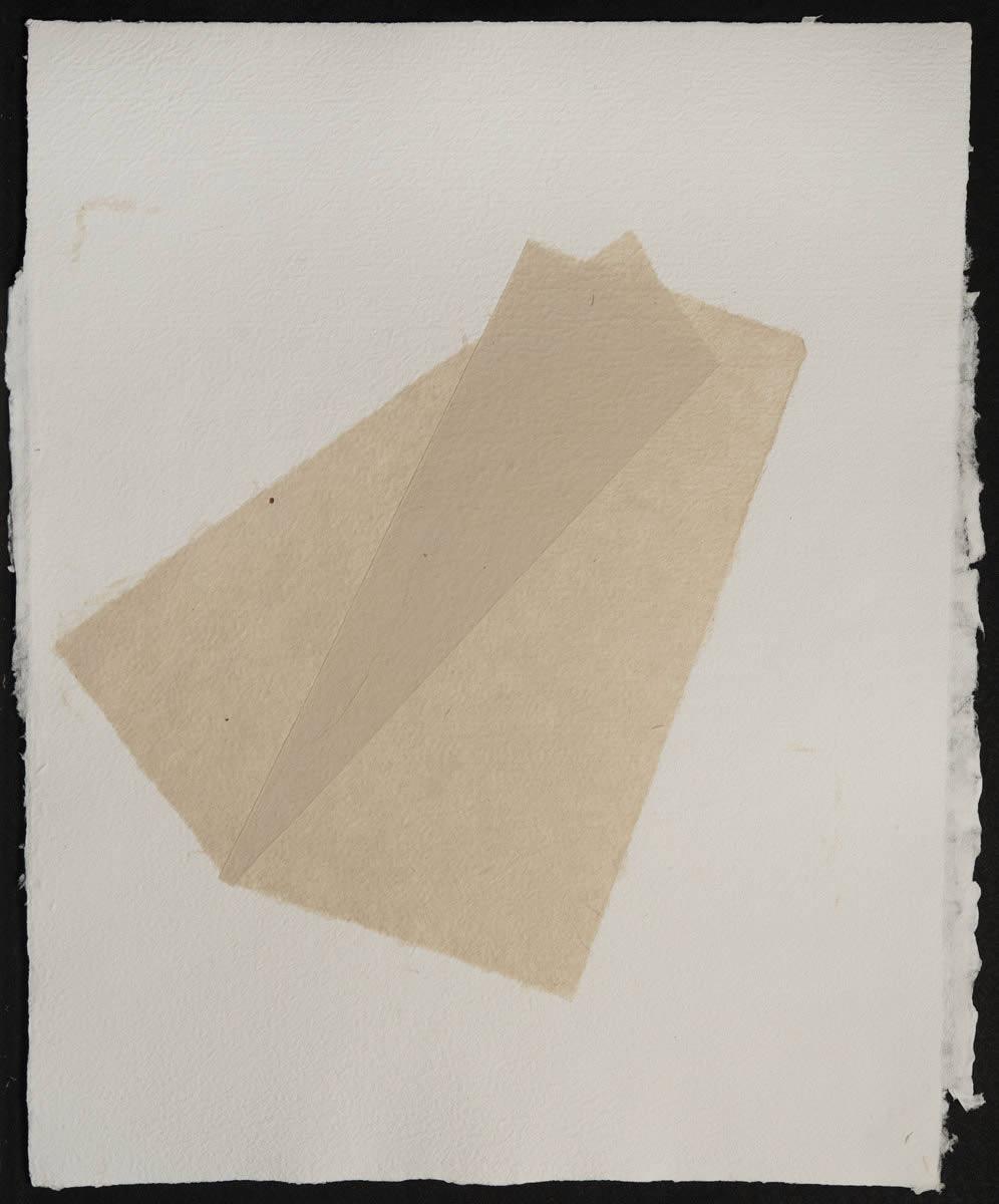Origami, Abaca White on White 1