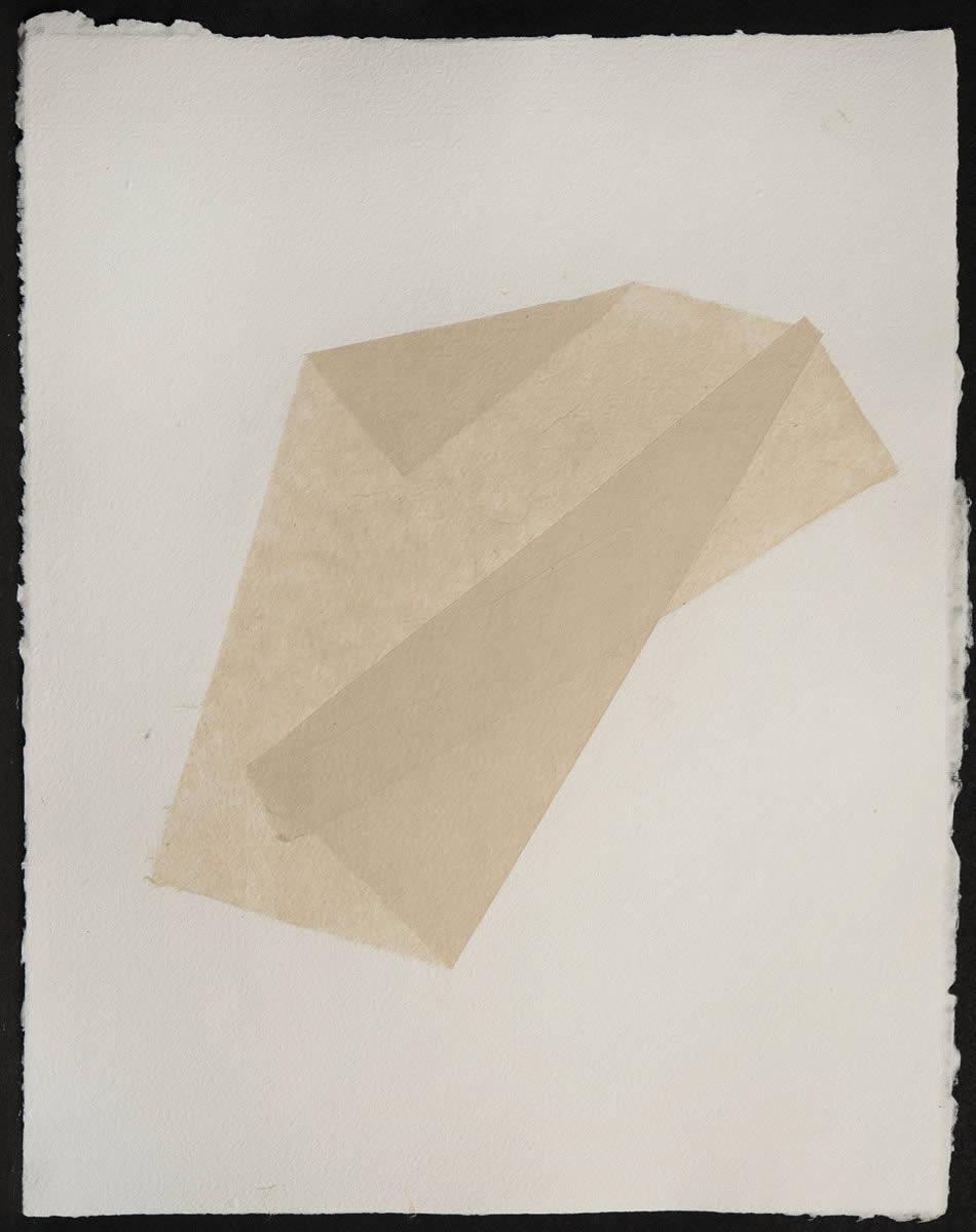 Origami, Abaca White on White 3
