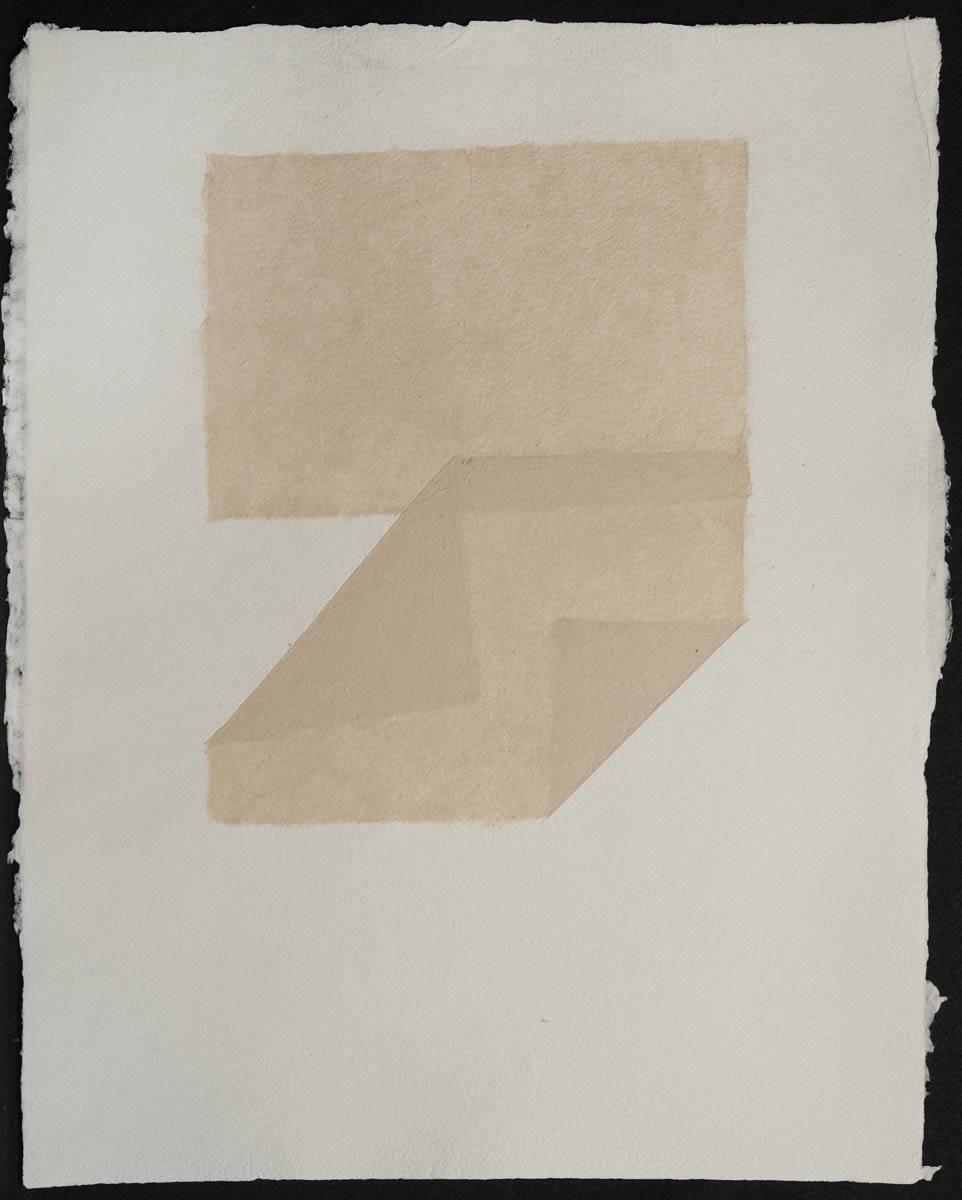 Origami, Abaca White on White 8