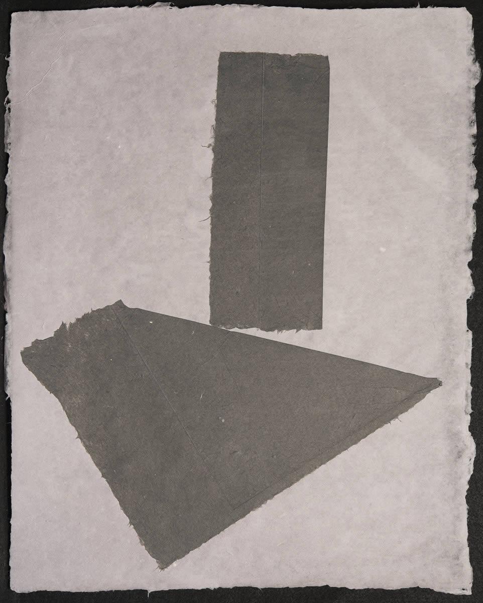 Origami, Black on Violet 3