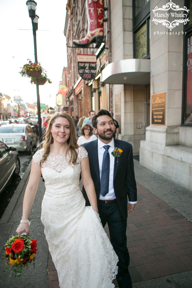 downtown nashville wedding photographer tn