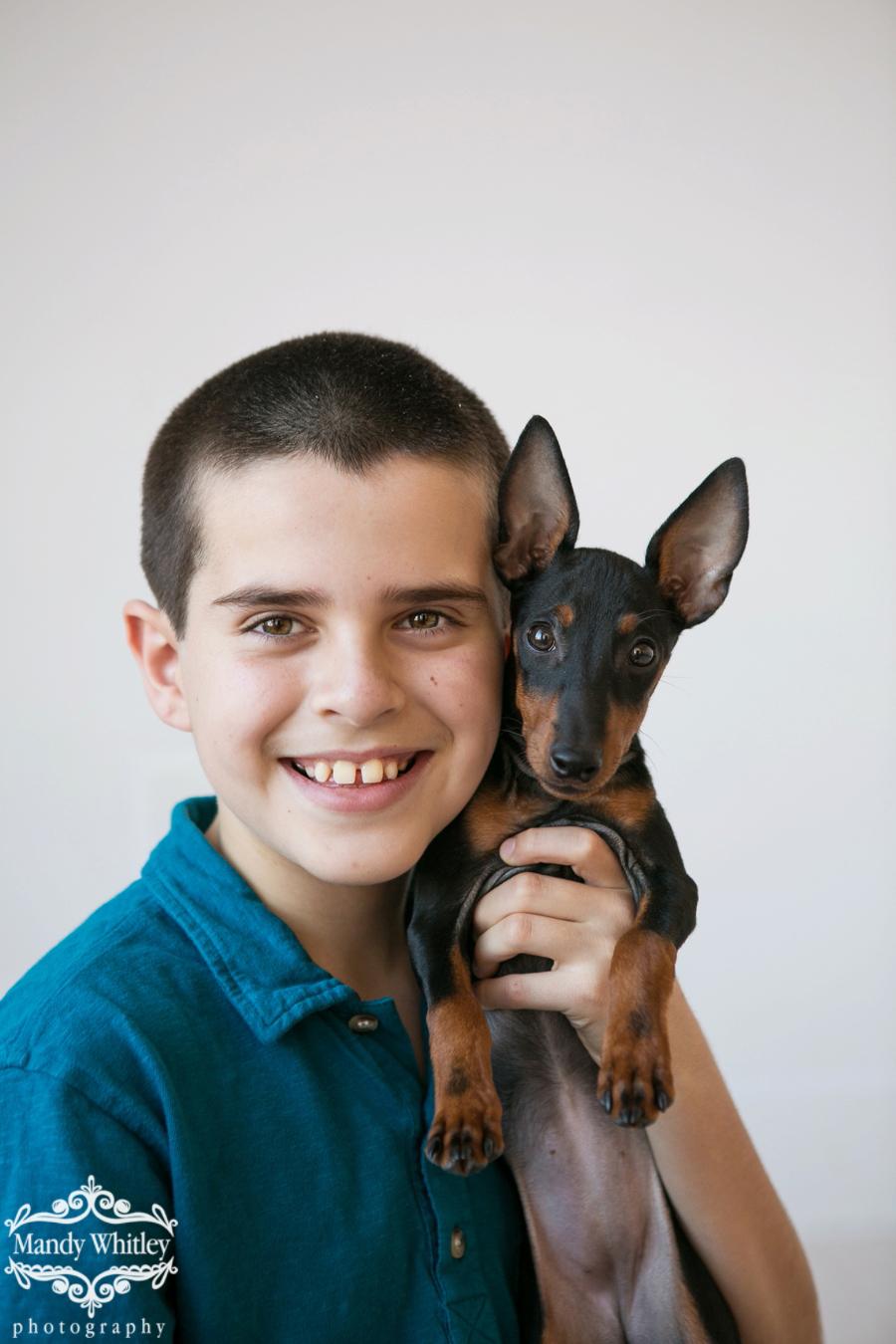family photos with pets pet photographer nashville