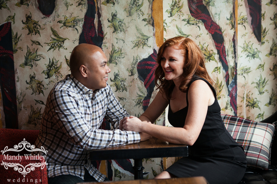 Mad Men Engagement Session in Chicago Mandy Whitley Photography