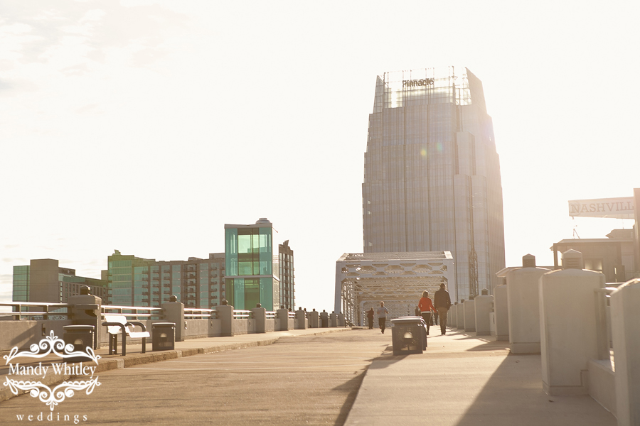 Shelby Street Bridge Proposal Nashville Wedding Photographer