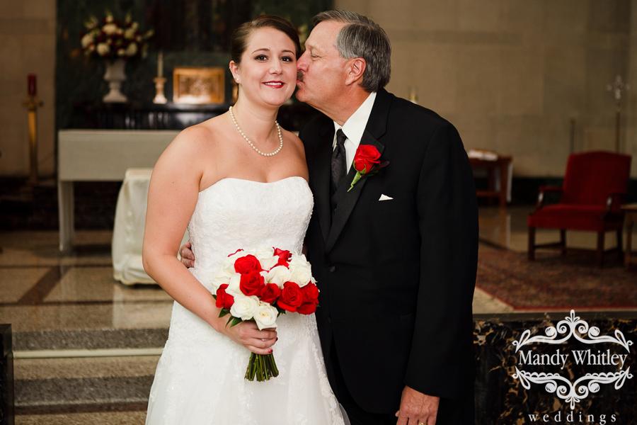 Christ the King Nashville Wedding Photographer