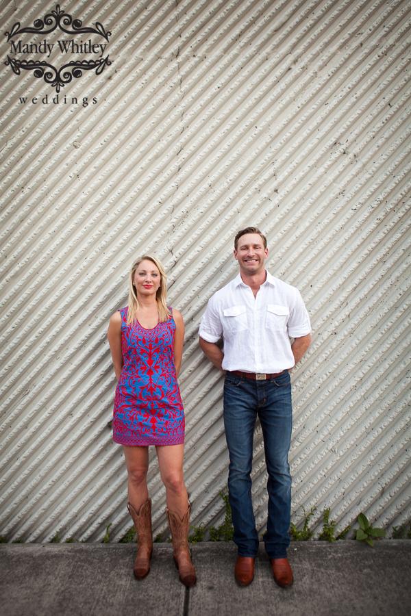 Downtown Nashville Engagement Photographer