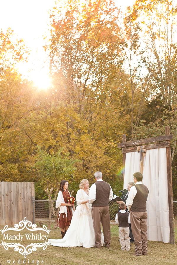 Backyard wedding in Nashville Tennessee Wedding Photographer