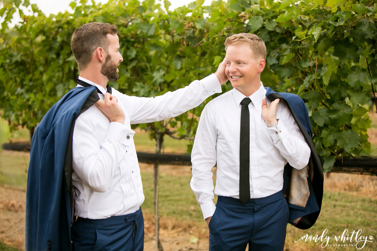 Lilac Farm Same Sex Wedding at Arrington Vineyard