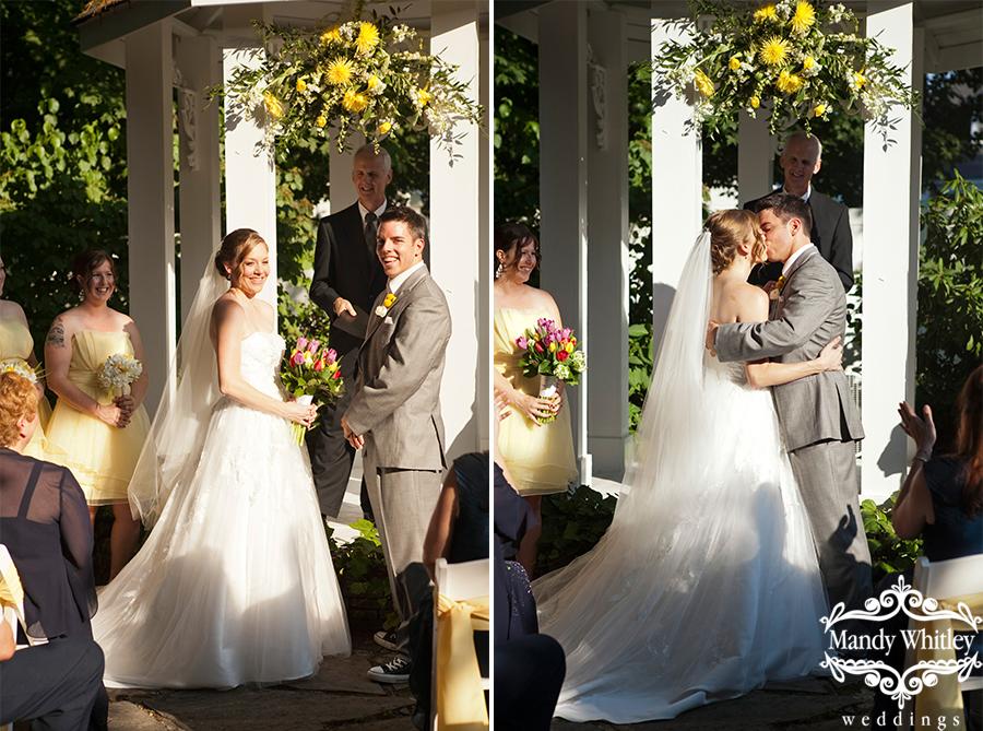 Downtown Franklin Wedding Photographer