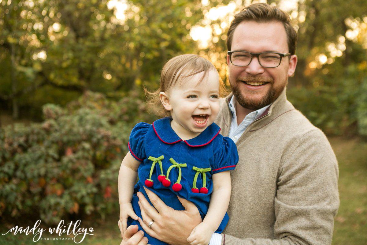 christmas family portrait photographer nashville