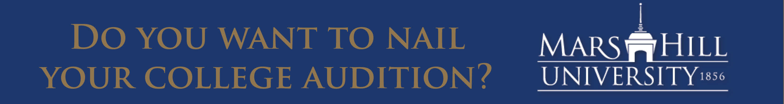 COLLEGE AUDITION WORKSHOP