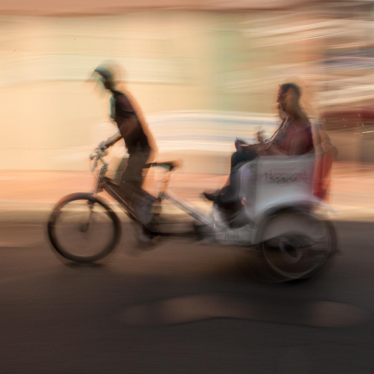 Bourbon Street Pedicab Slurred