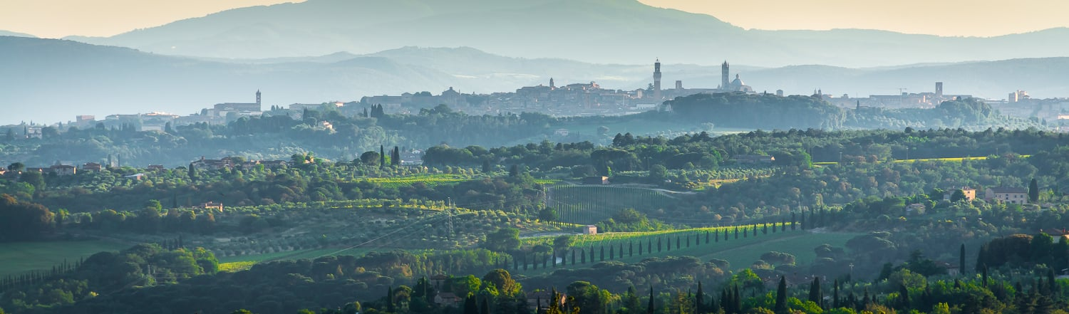 Siena is just a short drive from Borgo San Felice