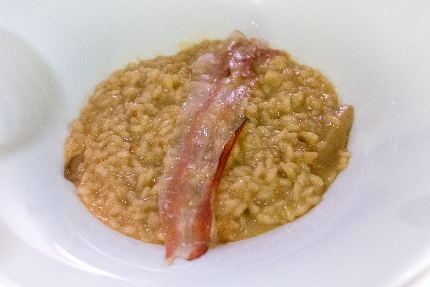 Risotto with pancetta!